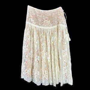 Love Shack Full Lace Skirt